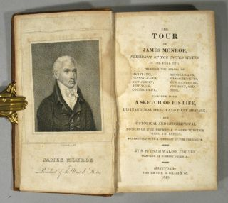 TOUR OF JAMES MONROE, PRESIDENT OF THE UNITED STATES, IN THE YEAR 1817
