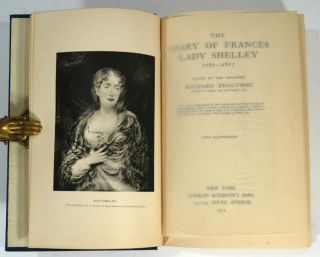 DIARY OF FRANCES LADY SHELLEY 1787-1817