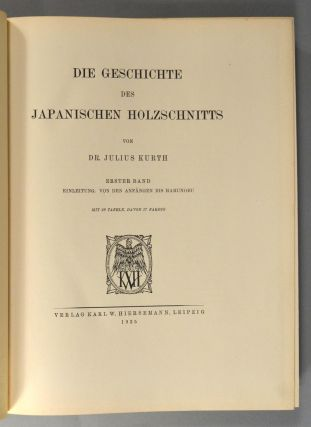DESCRIPTIVE CATALOGUE OF JAPANESE COLOUR-PRINTS THE COLLECTION OF