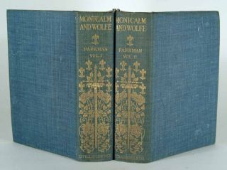 MONTCALM AND WOLFE, 2 VOLUMES, ILLUSTRATED HOLIDAY EDITION