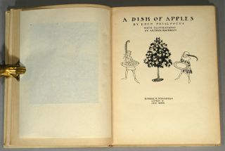 DISH OF APPLES