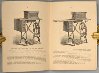 HOWE EXHIBITION CATALOGUE OF SEWING MACHINES & CASES