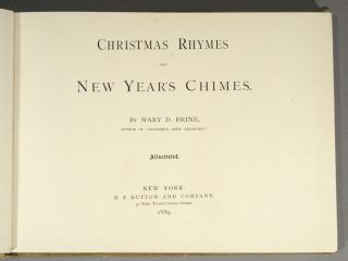 CHRISTMAS RHYMES AND NEW YEAR'S CHIMES