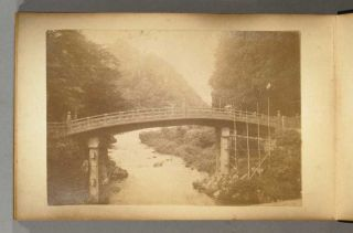 30 Albumen Scenes around Nikko. PHOTO ALBUM - JAPAN