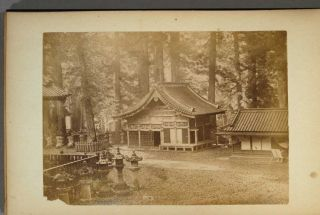30 Albumen Scenes around Nikko