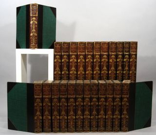WORKS OF WILLIAM MAKEPEACE THACKERAY, 24 VOLS. William Makepeace THACKERAY
