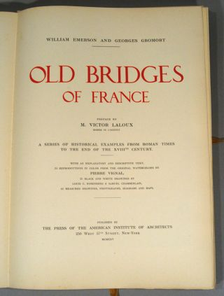 OLD BRIDGES OF FRANCE