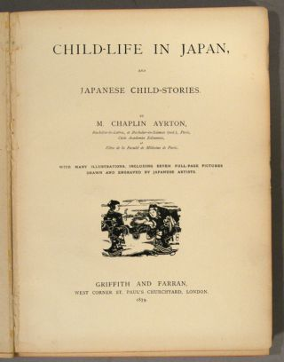 CHILD LIFE IN JAPAN