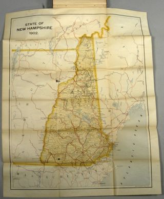 Tourists' Guide-Book to the State of New Hampshire. Frank West ROLLINS