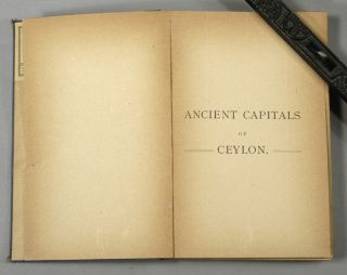 Guide to the Ancient Capital of Ceylon