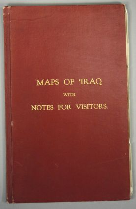 MAPS OF IRAQ WITH NOTES FOR VISITORS. Goverment of IRaq