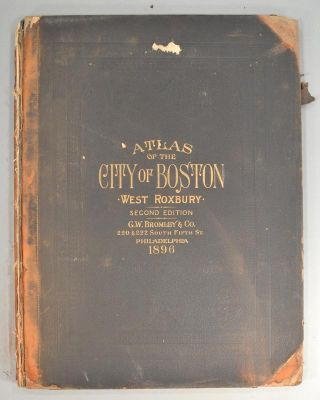 ATLAS OF THE CITY OF BOSTON VOLUME 6 WEST ROXBURY. ATLAS