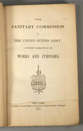 SANITARY COMMISSION OF THE UNITED STATES ARMY
