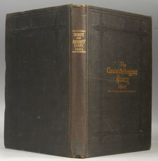 CHEMISTS' & DRUGGISTS' DIARY, 1884. THE CHEMIST AND DRUGGISTS