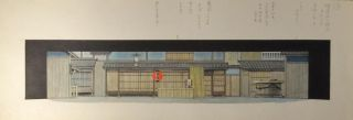 ODA OTOYA COLLECTION OF STAGE DESIGNS