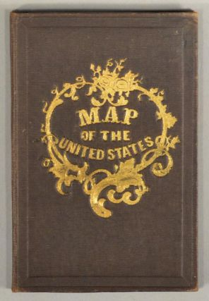 MAP OF THE UNITED STATES OF AMERICA, THE BRITISH PROVINCES, MEXICO, MAP