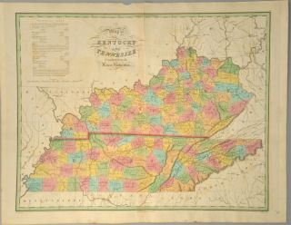 MAP], KENTUCKY AND TENNESEE. Anthony FINLEY