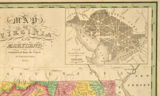 [MAP], VIRGINIA AND MARYLAND.
