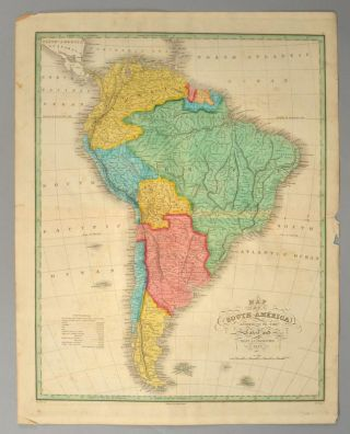 MAP], SOUTH AMERICA. Anthony FINLEY