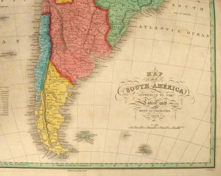 [MAP], SOUTH AMERICA