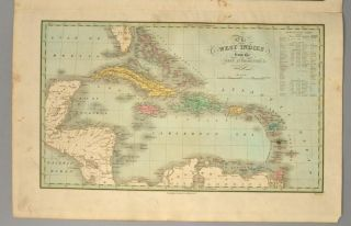 [MAP], FLORIDA, THE WEST INDIES.