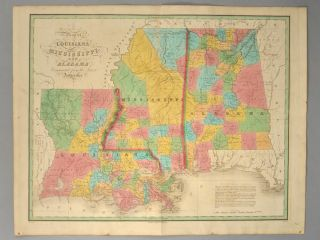 MAP], LOUISIANNA, MISSISSIPPI, AND ALABAMA. Anthony FINLEY