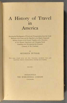 HISTORY OF TRAVEL IN AMERICA