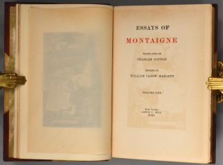 WORKS OF MICHEL DE MONTAIGNE, WITH NOTES, LIFE AND LETTERS.