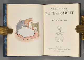 TALE OF PETER RABBIT [Bound with] THE TALE OF BENJAMIN BUNNY