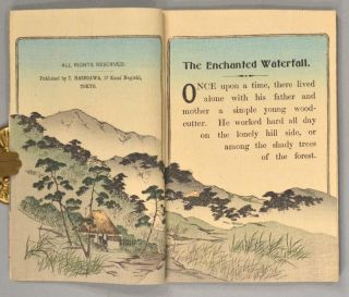 Japanese Fairy Tale Series No.20, THE ENCHANTED WATERFALL
