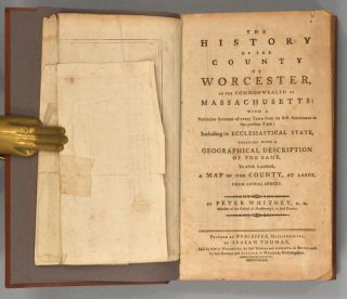 HISTORY OF THE COUNTY OF WORCESTER, IN THE COMMONWEALTH OF MASSACHUSET