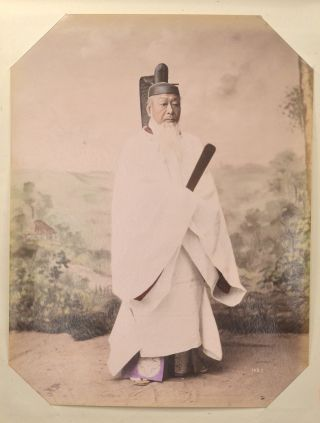 HAND COLORED & BLACK AND WHITE PHOTOGRAPHS OF 19TH CENTURY JAPAN