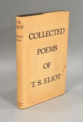 COLLECTED POEMS 1909-1935. T. S. ELIOT