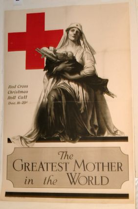 RED CROSS POSTER. WWI POSTER
