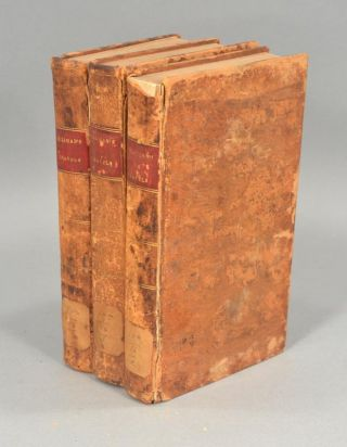 JOURNAL OF TRAVELS IN ENGLAND, HOLLAND AND SCOTLAND, 3 VOLUMES. Benjamin SILLIMAN