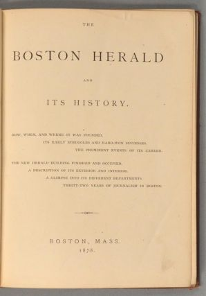 BOSTON HERALD AND ITS HISTORY.