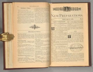 NEW PREPARATIONS; A QUARTERLY JOURNAL OF MEDICINE, DEVOTED TO THE