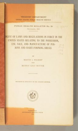 DIGEST OF LAWS AND REGULATIONS IN FORCE IN THE UNITED STATES RELATING