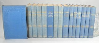 WORKS OF HERMAN MELVILLE. 15 (OF 16) VOLS. THE STANDARD EDITION.