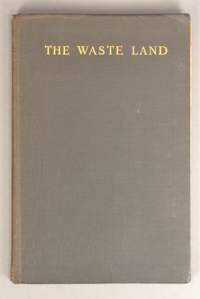 WASTE LAND. T. S. ELIOT.
