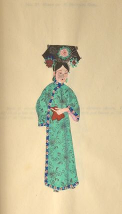 Chinese Costumes 中華服物考略. Multiple Artists, author Hardy Jowett
